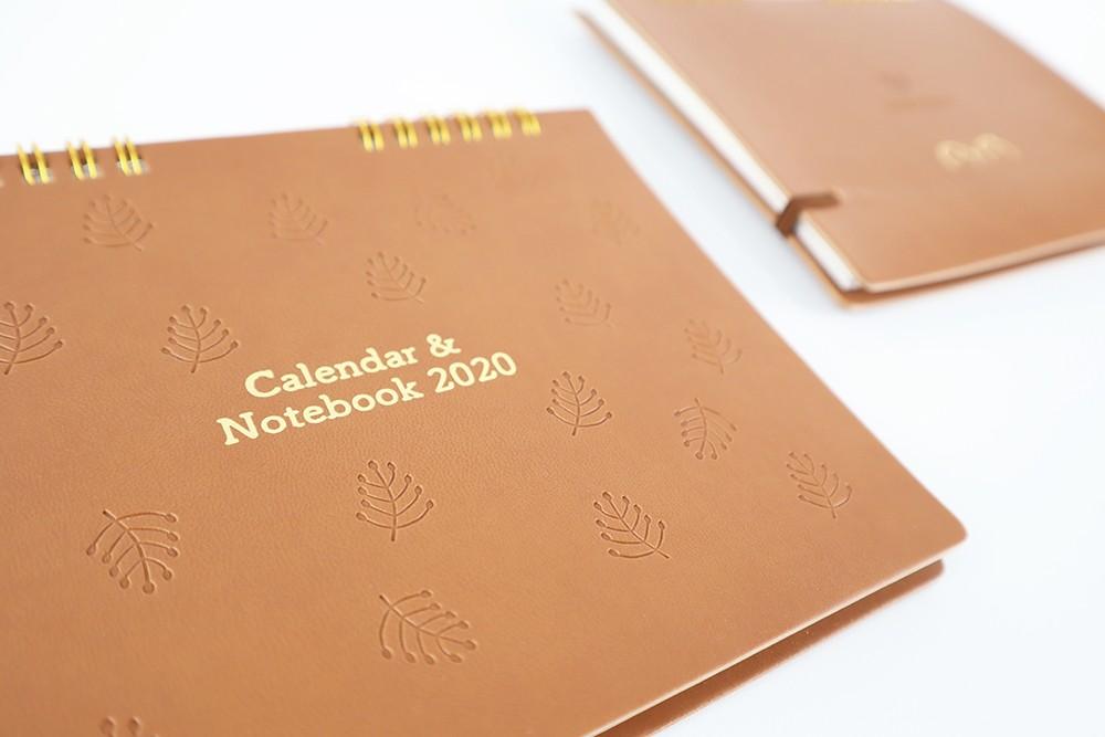 株式会社ヤブシタ/2020卓上カレンダー&Notebook(スイーツVer.) - Yabushita-calendar-sweets